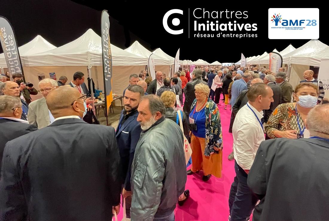 Chartres Initiatives au Congrès des Maires 2021